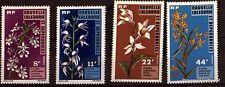 TIMBRES NEUFS NOUVELLE CALEDONIE  Scott 408/9 425/6  Fleurs Flowers    98m292
