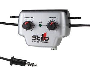 Stilo WRC 03 Intercom Amplifier AB0200 9v Standard Powered fits Roll Cage RALLY
