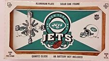 NFL, License Plate Clock, New York Jets, New