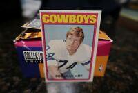 1972 Topps Bob Lilly #145 HOF
