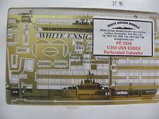 WHITE ENSIGNS MODELS 1/350 PE 3591 IOWA CLASS BOFORS AMMO RACKS -DETAIL SET