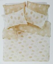 Pebbles QUEEN Reversible Quilt Cover set with 4 Pillowcases 225TC percale