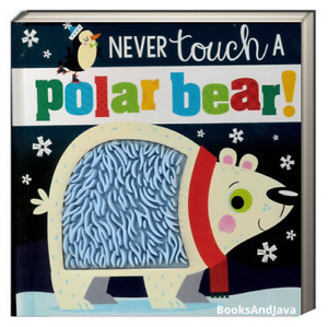 Never Touch A Polar Bear by Make Believe Ideas (Board Book) FREE shipping $35
