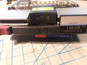"HP 404708-001 HOTSWAP HARD DRIVE CADDY TRAY FOR 146.8GB ULTRA320 3.5"" DRIVE OEM"