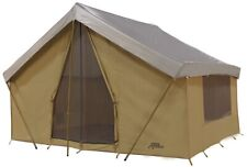 NEW Trek Tents 245C Canvas Cabin 9' x 12' Heavy Duty 7 Person Tent w/ Fly Cover