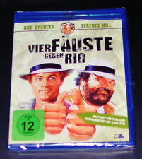 Four fäuste Against Rio with Bud Spencer and Terence Hill Blu Ray new OVP