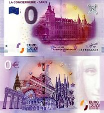 BILLET 0 EURO - 2017-1 - LA CONCIERGERIE - PARIS - UEFZ006263