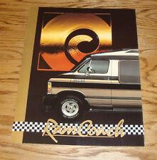 Original 1991 Dodge Ram Coach Foldout Sales Brochure 91 Polara Dart 109 Traveler