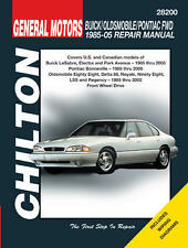 Chilton Repair Manual GM: Bonneville, Eighty-Eight & LeSabre, 1985-05