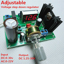 DC/AC-DC LM317 power board voltage regulator  adjustable power supply board NEW