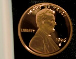 1996-S San Francisco Mint Lincoln Memorial Cent Proof