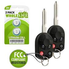 2 Replacement For 2008 2009 2010 2011 2012 Ford Escape Key Fob Remote