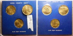 Argentina: 1978  World Cup Soccer  Comemorative 6x Bronze Coins Mint Set  57-626