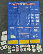 Children's Learning Calander With Weather Station