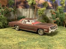 1975 Cadillac Eldorado Rusty Weathered Custom 1/64 Diecast Car Barn Find Rust
