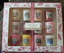 NEW Yankee Candle Boxed Gift Set of 12 ×  49g Assorted Scented Votive Candles