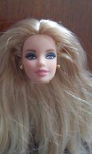 BARBIE DOLL HEAD ONLY - 'HUDSON BAY' - LONG BLOND HAIR - VERY PRETTY FACE