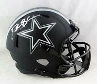 Deion Sanders Signed Cowboys F/S Eclipse Speed Helmet - Beckett W Auth *Silver