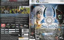 Sacred 2: Fallen Angel PC DVD ROM 2008 Ascaron Entertainment Used
