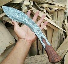 Handgemachtes Damaststahl Messer Kukri
