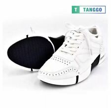 Tanggo Fashion Sneakers Men's Formal Leather Shoes H325 (white) - Size 39
