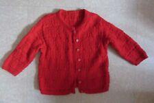 Gilet tricoté main 8-10 ans