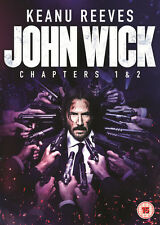 John Wick Chapters 1 & 2 DVD Digital Download 2017 Keanu Reeves