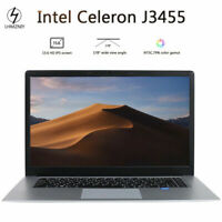 "LHMZNIY 15.6"" Intel Celeron J3455 DDR4 8GB 256G 512GB SSD Light Laptop Notebook"