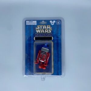 Star Wars DROID FACTORY Exclusive Red R2D2 with Mickey Hat & Magician Hat Disney