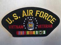 U.S. Air Force Hat Patch Military Cap Patch
