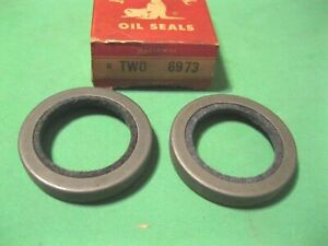 New 1957-1966 Packard and Studebaker front oil seal set