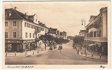 Ak Franzensbad Goethestraße Automobile Františkovy Lázně Böhmen ceska ! A413