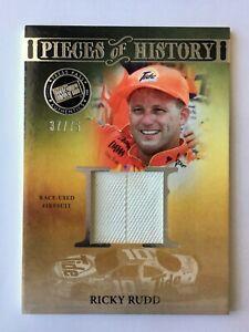 Ricky Rudd 2013 Press Pass Legends Race Used Fireusit Relic Card NASCAR