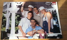 BACKSTREET BOYS 'on the porch' Centerfold magazine POSTER  17x11 inches