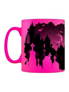 Neon Mug Cathedral Of Death Pink