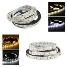 5 Meter Tira de Luz LED Strip 12V 5050 5630 3528 SMD Cinta blanco cálido IP65