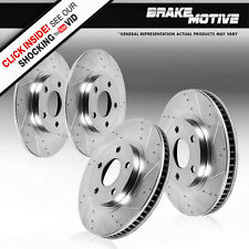Front and Rear Brake Rotors BMW 740I 740IL 1995 1996 1997 1998 1999 2000 2001