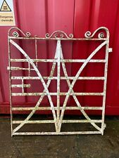 """Reclaimed 19th Century Strap Iron Gate 4Ft  X 53""""  WEST YORKSHIRE £400"""