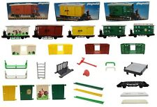 Playmobil Tren Viehwaggon Boxcar 4121 4101 4102 4115+ Piezas