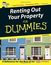 Renting Out Your Property for Dummies (UK Edition) - 2nd Edition By Melanie Bie