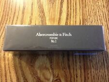 SEALED Abercrombie & Fitch PERFUME No.1 SIZE: 0.31 oz EDP Rollerball
