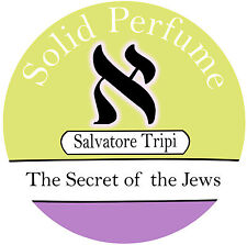 Solid Natural Perfume Salvatore Tripi א SECRET OF THE JEWS אָלֶף ALEF 10g Scent