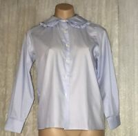 TURNBURY WOMENS SIZE 12 COTTON SHIRTS MADE IN ITALY AS NEW