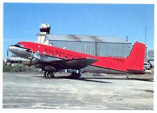 KENN BOREK AIR Douglas Super DC-3S Postcard