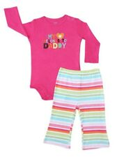 Carter's – My Heart Belongs To Daddy PUll on Pants Set  Size Newborn