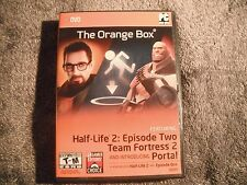 Half-Life 2: The Orange Box (PC, 2007) DVD Video Game in Case/Box w/ Key