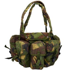 CHEST RIG DPM Tactical Vest British Army Pouches Webbing Woodland Surplus