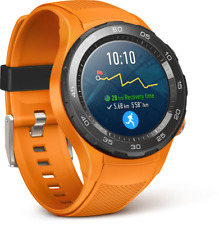 Huawei Watch 2 LTE Dynamic Orange Smartwatch Bluetooth WLAN Android Wear 2.0