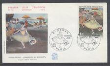 FRANCE FDC - 1653 3 DEGAS LA DANSEUSE AU BOUQUET 14 Novembre 1970 - LUXE