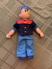 King Features Syndicate Popeye The Sailor Doll 17� Vinyl cloth 1979